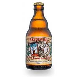 Belgenius - Slow Brewed Golden Ale